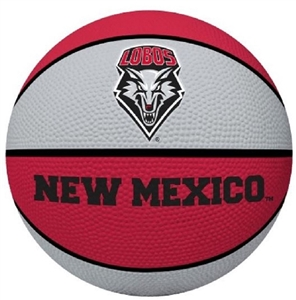University of New Mexico Full Size Crossover Basketball - Rawlings