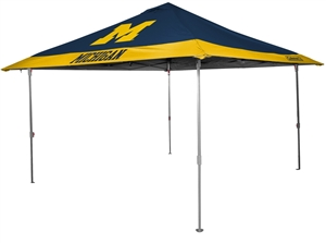 University of Michigan Wolverines 10x10 Eaved Canopy with Carry Bag - Rawlings