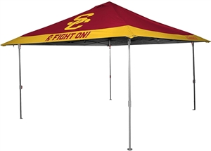 USC Trojans 10x10 Eaved Canopy with Carry Bag - Rawlings
