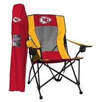 Kansas City Chiefs High Back Folding Chair - Rawlings