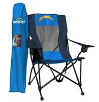Los Angeles Chargers High Back Folding Chair - Rawlings