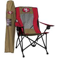 San Francisco 49ers High Back Folding Chair - Rawlings