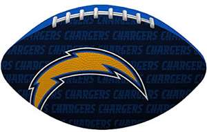 "NFL Los Angeles Chargers ""Gridiron"" Junior-Size Football"