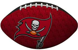 "Tampa Buccaneers NFL ""Gridiron"" Junior-Size Football"