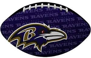 "Baltimore Ravens NFL ""Gridiron"" Junior-Size Football"