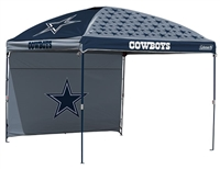 Dallas Cowboys 10 X 10 Dome Canopy with Side Wall - Coleman