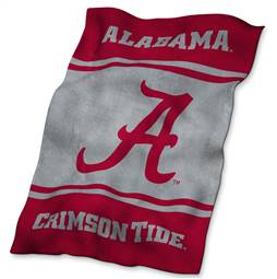 University of Alabama Crimson Tide Ultrasoft Plush Blanket 84 X 54 Inches