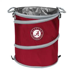 University of Alabama Crimson Tide 3-IN-1 Cooler Trash Can Hamper