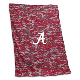 University of Alabama Crimson Tide Digi Camo Sweatshirt Blanket 74 -Sweatshirt Blnkt