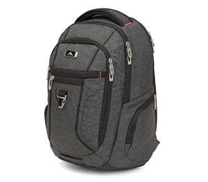 High Sierra ENDEAVOR ESSENTIAL BACKPACK MERCURY HEATHER/BLACK