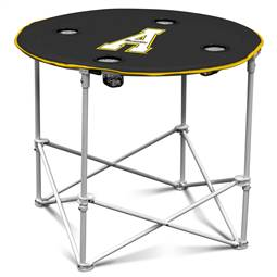Appalachian State University Mountaineers Round Table Folding Tailgate