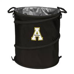 Appalachian State University Mountaineers 3-IN-1 Cooler Trash Can Hamper