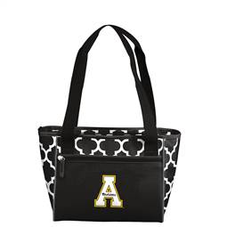 Appalachian State University Mountaineers 16 Can Cooler Tote Bag