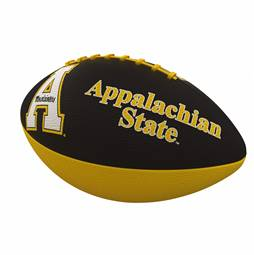 Appalachian State University Mountaineers Junior Size Rubber Football