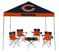Chicago Bears Tailgate Kit - Canopy - 4 Chairs - Table