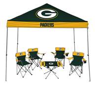 Green Bay Packers Tailgate Kit - Canopy - 4 Chairs - Table