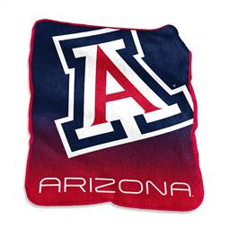 University of Arizona Wildcats Raschel Thorw Blanket 60 X 50 Inches