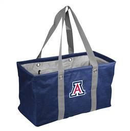 University of Arizona Wildcats Crosshatch Picnic Tailgate Caddy Tote Bag