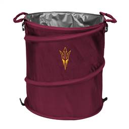 Arizona State University Sun Devils 3-IN-1 Cooler Trash Can Hamper