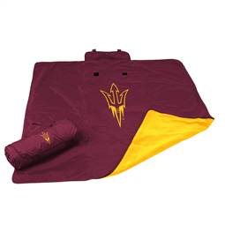 Arizona State Univesity Sun Devils All Weather Blanket 73 -All Weather Blkt