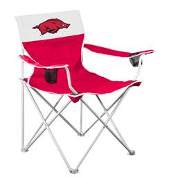University of Arkansas Razorbacks Big Boy Folding Chair with Carry Bag
