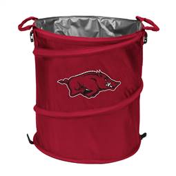 University of Arkansas Razorbacks 3-IN-1 Cooler Trash Can Hamper