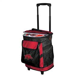 University of Arkansas Razorbacks 48 Can Rolling Cooler