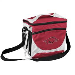 University of Arkansas Razorbacks 24 Can Cooler