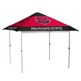 Arkansas State University Red Wolves 10 X 10 Pagoda Canopy Tailgate Tent