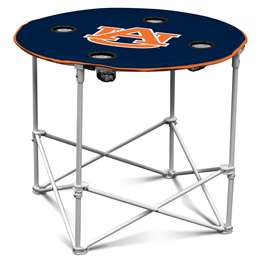 Auburn University Tigers Round Folding Table with Carry Bag