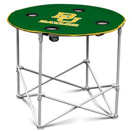 Baylor University Bears Round Table Folding Tailgate