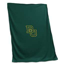 Baylor University Bears Sweatshirt Blanket Screened Print