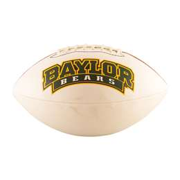 Baylor University Bears Full-Size Autograph Football 93FA - FS Auto FB