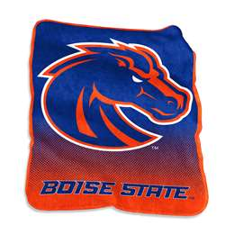 Boise State University Broncos Raschel Throw Blanket - 50 X 60 in.