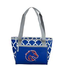 Boise State University Broncos 16 Can Cooler Tote Bag