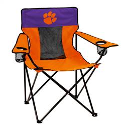 Clemson University Tigers Elite Folding Chair with Carry Bag