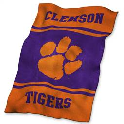 Clemson University Tigers Ultrasoft Throw Blanket