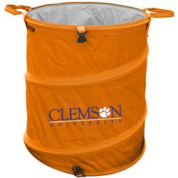 Clemson University Tigers 3-IN-1 Cooler Trash Can Hamper