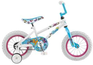 Pacific Girl's Gleam Bicycle, White 12 in.