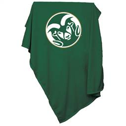 Colorado State University Rams Sweatshirt Blanket