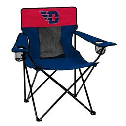 University of Dayton Flyers Elite Folding Chair with Carry Bag