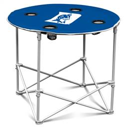 Duke University Blue Devils Round Folding Table with Carry Bag