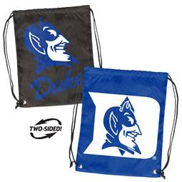 Duke University Blue Devils Doubleheader Backsack 87D - Dbl Head Strin