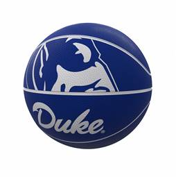 Duke Mascot Official-Size Rubber Basketball