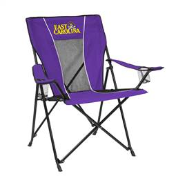 East Carolina University Pirates Game Time Chair Folding Tailgate