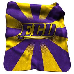 East Carolina University Pirates Raschel Throw Blanket