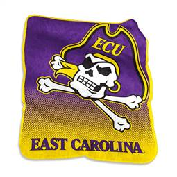 East Carolina University PiratesRaschel Throw Blanket
