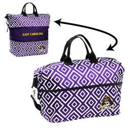 East Carolina University Pirates Expandable Tote Bag