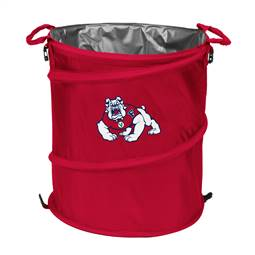 Fresno State University Bulldogs 3-IN-1 Cooler Trash Can Hamper