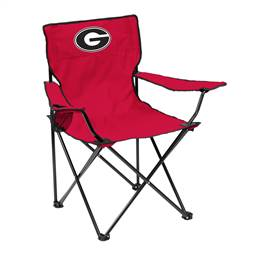 University of Georgia Bulldogs Quad Folding Chair with Carry Bag